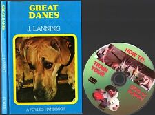 GREAT DANES 90 page  Owner Manual + FREE BONUS TRAINING DVD