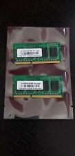4GB (2x2GB) DDR3 PC3 10600 1333mhz 204-Pin Laptop So-Dimm RAM Memory Upgrade