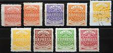 Samoa British Kat. 1-7 MH * used 1877 ND??
