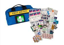 UFirst First Aid Kit : Large General Purpose Outdoor & 4WD in Blue Zippered Case