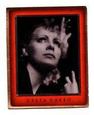 Greta Garbo 1936 Caid Film Star Cigarette Card #44