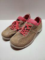 T4 Dansko Womens Size 40 Tan Elise Slip Resistant Work Sneaker Shoe