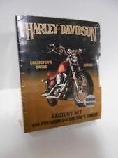 Harley Davidson series 1 with rare hologram factory sealed cards set 1990s