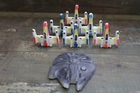 Star Wars Cake Topper Millennium Falcon & X-Wing Fighters Spaceship Edible