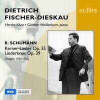 Dietrich Fischer-Dieskau - Schumann - Kerner-Lieder; Liederkreis [CD]