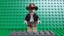 LEGO Indiana Jones minifigure. USED PLAYED WITH AND MAY SHOW DAMAGE. PLZ READ!