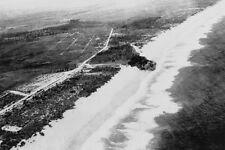 Queensland Gold Coast MIAMI BEACH Aerial 1927 Modern Digital Photo Postcard