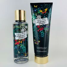 2 Victoria's Secret Medianoche Pétalos Fantasías Fragancia Body Loción 237ml New