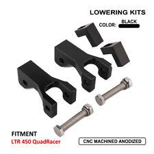 CNC Motorcycle Front Lowering Kit For Suzuki LTR 450 QuadRacer ATV Black New