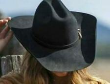 NEW - KINGMAN 4X Black Premium Wool Western Rodeo Cowboy Hat Bullhide MonteCarlo