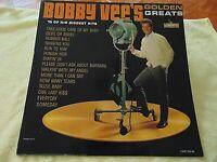 "Bobby Vee – ""Bobby Vee's Golden Greats"" - 1962 Liberty Vinyl Mono LP - VG+/VG+"