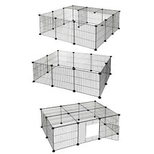 Freigehege Welpenauslauf DIY Laufgitter Freigehege Nager Hamster Kaninchen
