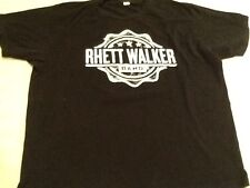 RHETT WALKER BAND Black XL Tee Shirt