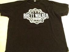 RHETT WALKER BAND Black XL Tee Shirt