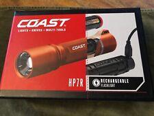 Coast 21529 HP7R Rechargeable LED Flashlights - Orange