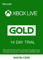Microsoft Xbox Live 14 Day Gold - Xbox Live Game Play Gold