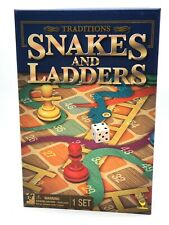 Snakes And Ladders Traditional Family Fun Board Game Kids Strategy Toys Games