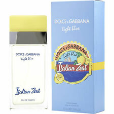 D & G Light Blue Italian Zest By Dolce & Gabbana Edt Spray 3.3 Oz