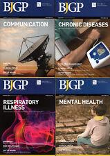 4 x BJGP The BRITISH JOURNAL of GENERAL PRACTICE July August Sept' October 2016