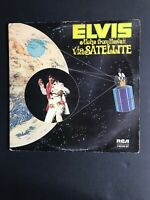 Elvis Presley Elvis Aloha From Hawaii Via Satellite 2x Vinyl LP G/fold Reissue