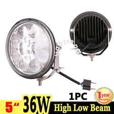 1X 5inch 36W LED Work Light Combo High Low Beam Driving Lamp Offroad Truck 4WD