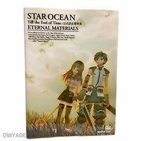 Star Ocean Till the end of Time Design Materials Art Book Japanese