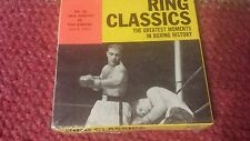 Vintage ring classics 8 mm the greatest moments in boxing history