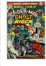 Marvel Team-Up #15 - Spider-man - Ghost Rider - 1st Orb - 1973 - Fine