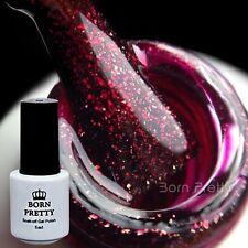 BORN PRETTY One-step UV Gel Polish 5ml Nail Art Soak Off Manicure Red Varnish
