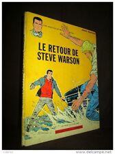 BD Bande Dessinée MICHEL VAILLANT 9 RETOUR STEVE WARSON J. GRATON Lombard EO1965