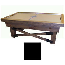 Black Maple Dynamo Rustic Air Hockey Table