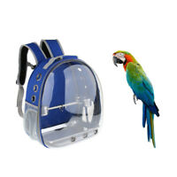 MagiDeal Parrot Portable Outdoor Travel Bird Carrier Backpack w/ 1 Set Perch Cup