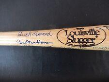 48 Baseball Hall Of Fame Autographs on a Hall Of Fame Bat - With JSA LOA