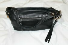 Coach Black Leather Legacy Duffle Bag