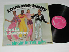 SHEILA B. DEVOTION Love Me Baby LP 1977 Carrere France Vinyl Singin' in the Rain