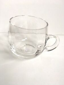 Godinger Silver Crystal Art Co Clear Mugs Cups MINT And NWT Several Available