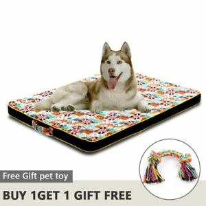 Large Dog Bed Mat Memory Foam Breathable  Oxford Bottom Orthopedic Mattress