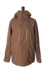 Men's THE NORTH FACE Harrys Gore-Tex Steep Series Beige Outdoor Jacket Size L