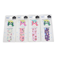Cartoon owl Metal Magnetic Bookmarks Note Memo Stationery Book Mark BookwormIff