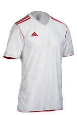 Mens adidas TABE 11 Football Jersey in White From Get The Label S