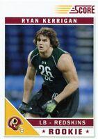 Ryan Kerrigan 2011 Score Glossy Rookie Card RC #384 Washington Redskins