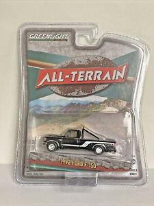 Greenlight1992 Ford F-150 pickup truck - black -  1/64