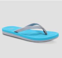 C9 Champion Women's Veanna Cushion Lite Flip Flop Sandals, Blue/Gray