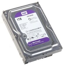 Western Digital Purple Surveillance 1TB SATA III 3.5 Hard Drive 5400RPM 64MB