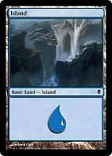 20 Basic Land #235a - SAME ART - Island - Zendikar - SP/NM - Magic MTG FTG