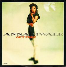 "ANNA MWALE get free 7"" PS EX/VG uk cbs dance pool 656103 7"