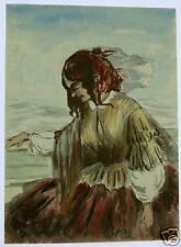 SMALL PORTRAIT LADY WALTER FARQHAR LARKINS W/COL 1858