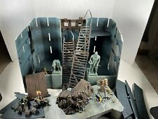 Lotr Helm's Deep Castle w/ instructions Armies of Middle Earth + Extra Figures