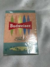 Vintage Budweiser Playing Cards | Retro 1961
