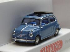 Wiking Fiat 600, brillant-blau - 0099 06 - 1:87